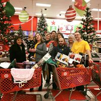 Shopping for Santa's Toybox, a project of Mercersburg Rotary Club. They raised the money; we did the shopping!